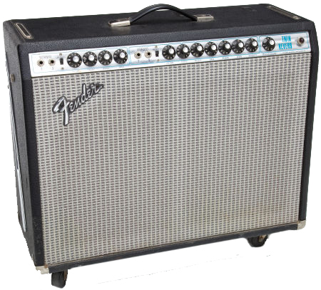 FENDER - TWIN REVERB SILVER FACE VINTAGE